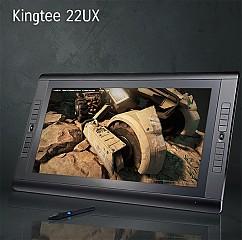 Kingtee 22UX액정타블렛모니터/태블릿터치모니터22형 그림 코믹만화제작용 전문가용